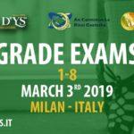 Grade Exams – Milano