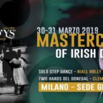 Milano – Masterclass Irish Dancing