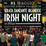 Irish Night – Serata Danzante Irlandese