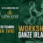 Omegna (VB) – Workshop di danze Irlandesi